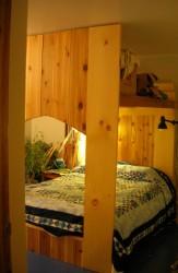 image of handmade bed