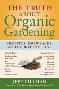 image of The Truth About Organic Gardening book cover