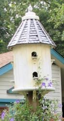 Image of turret style birdhouse