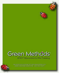image of the Green Methods 2007 catalog cover