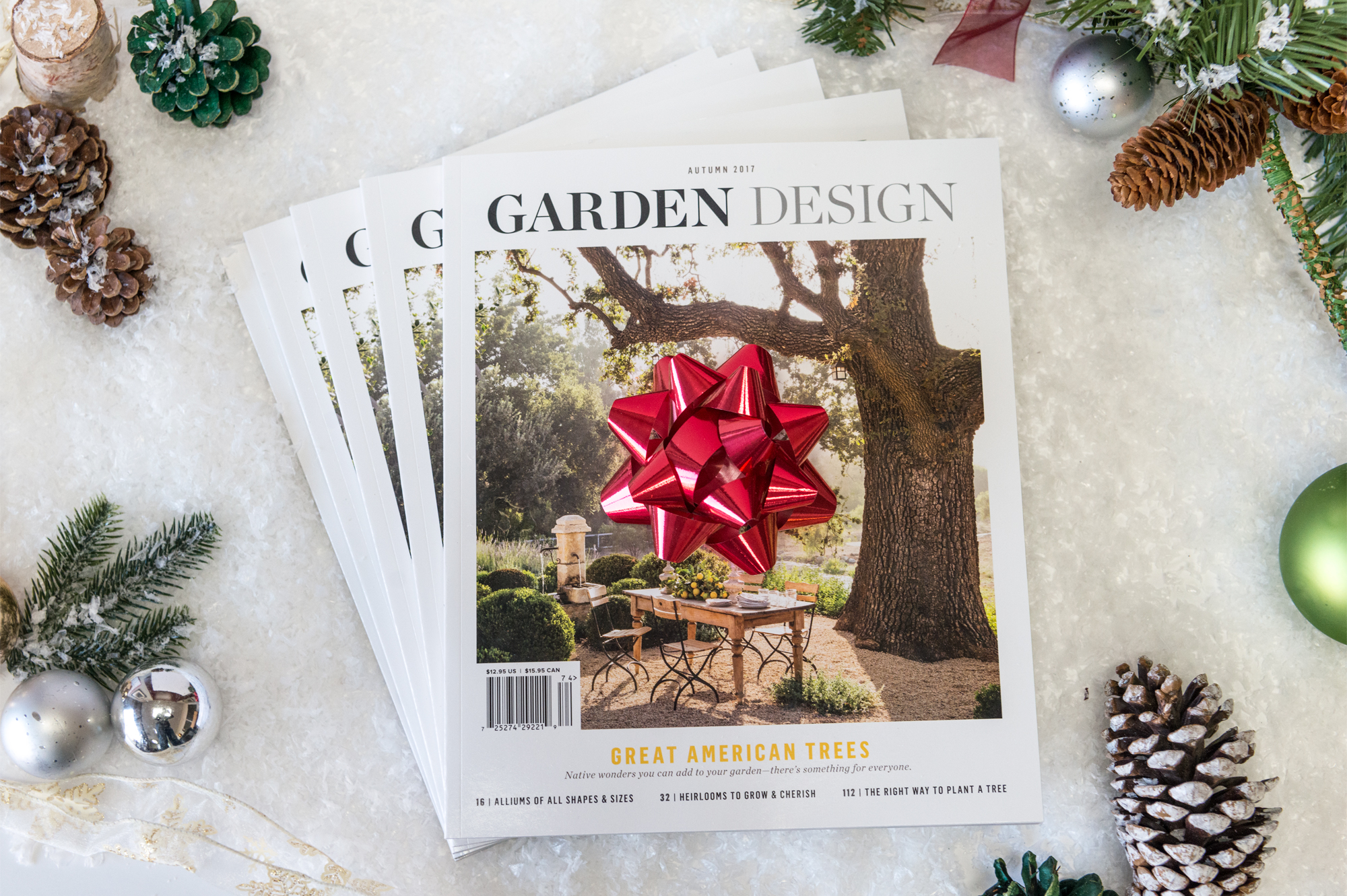 Readers of Cold Climate Gardening get five issues for the price of four!
