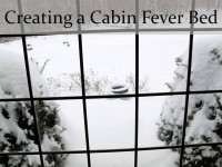 Creating a Cabin Fever Bed cover only