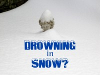 Drowing in snow featured image
