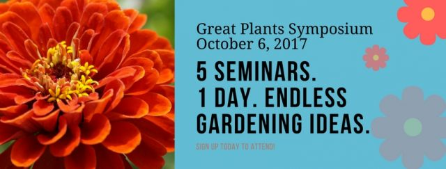 Register for the Great Plants Symposium