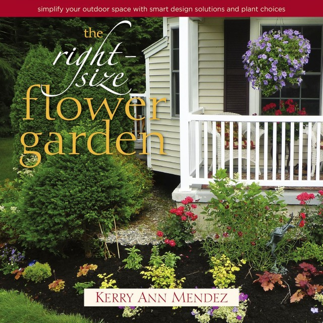 Book giveaway the right size flower garden design for Garden design solutions