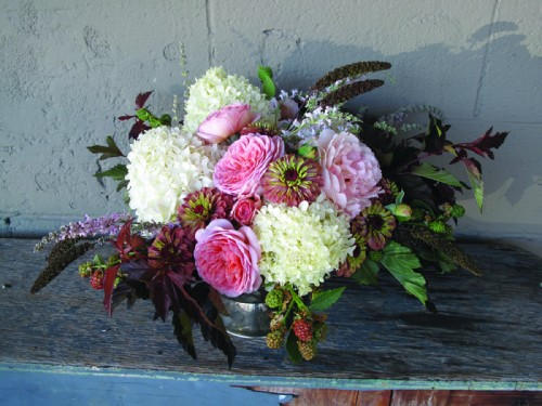 Bouquet as seen in SLOW FLOWERS by Debra Prinzing p 64