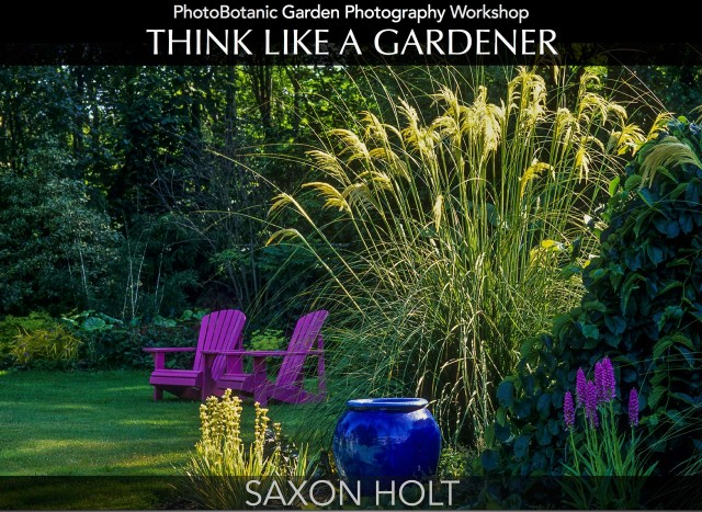 Think Like A Gardener by Saxon Holt