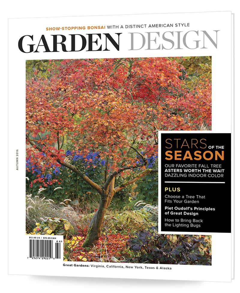 Garden Design magazine - it's scrumptious!