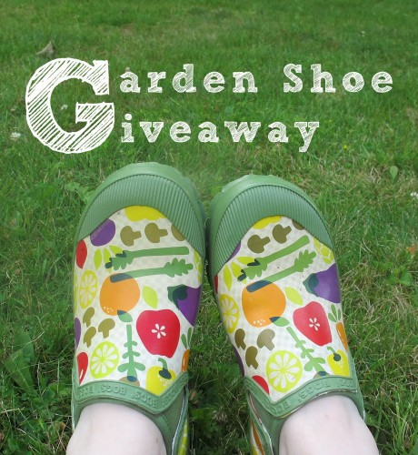 Giving away a pair of Bogs garden shoes. Giveaway ends 2013 Aug 11.