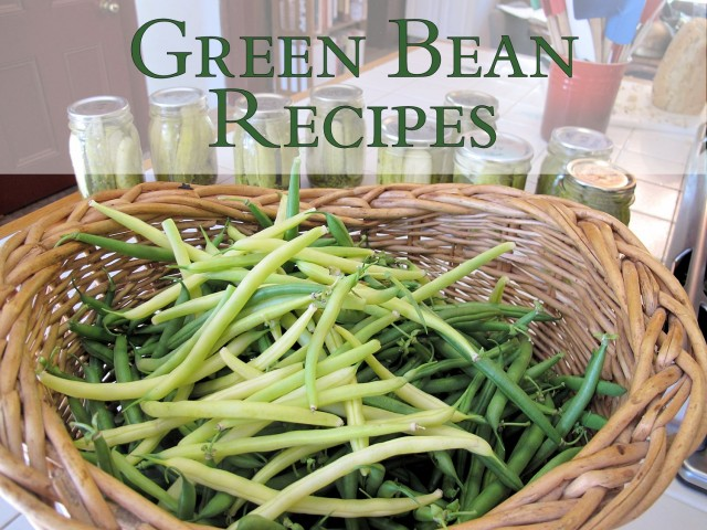 green beans featured image