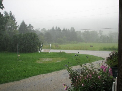 Another 1.3 inches of rain fell that afternoon