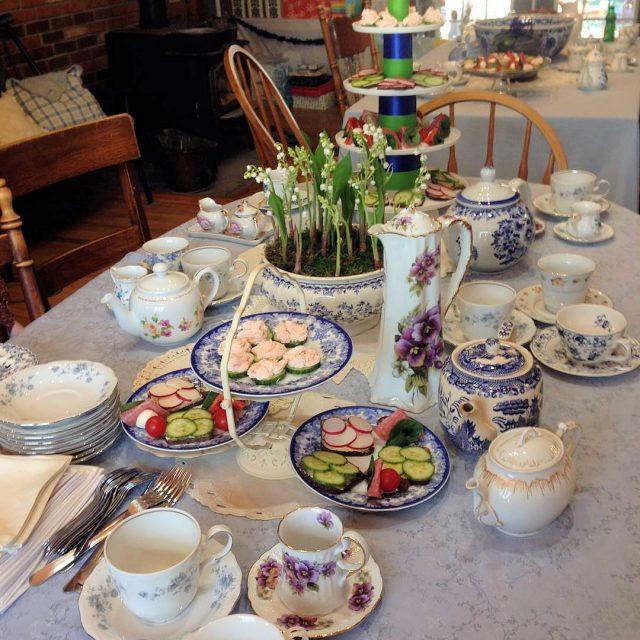 lily of the valley tea party