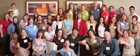 Garden Bloggers Spring Fling 2008 attendees in Austin, TX