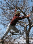 Rundy's pruning methods are not considered safe. Don't follow his example. photo (c) Cadence Purdy 2006