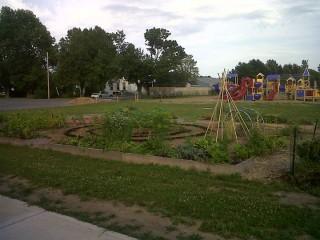 North Country school garden