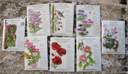 Botanical Interests Sweetheart Seed Collection