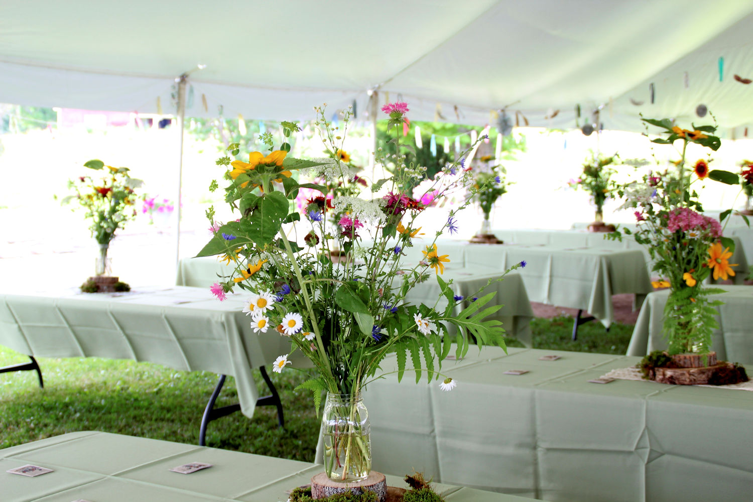 Do you really want to grow your own wedding flowers?