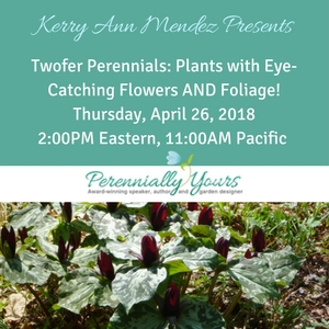 Register here for Two-Fer Perennials webinar
