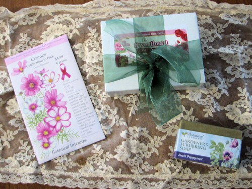 Botanical Interests Valentine's Day Seed giveaway