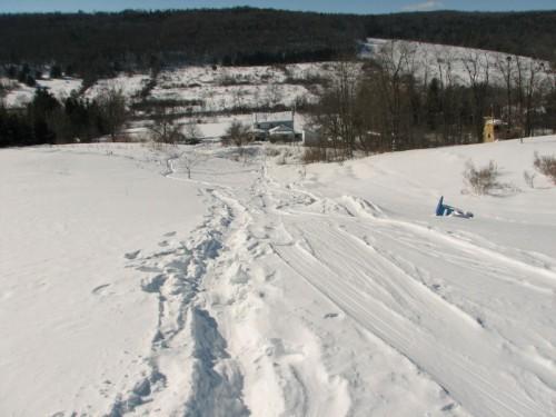 Winter walk last leg